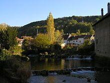 Ville d'Arbois dans le Jura , ville de Pasteur