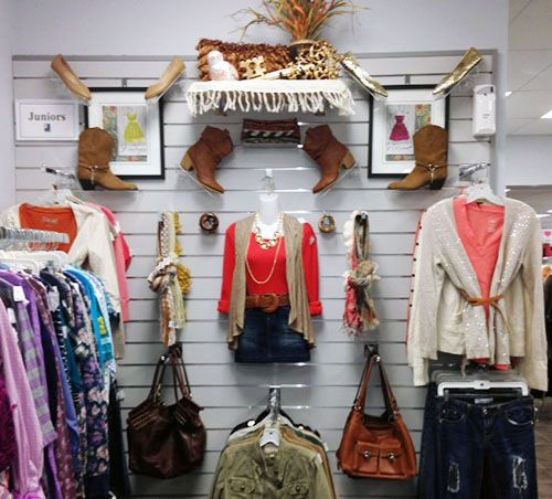 fashionable footwear and accessories adorn the juniors wall retail sales associate - Associate Retail