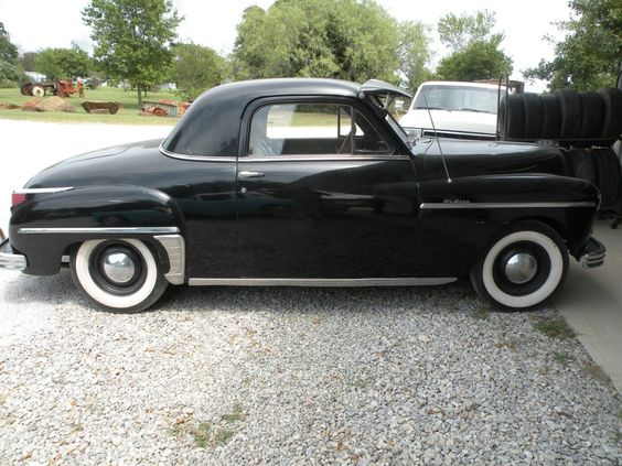 Plymouth doors and coupe on pinterest for 1949 plymouth 2 door sedan
