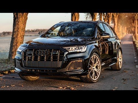 2020 Audi Q7 50tdi Quattro In Beautiful Details Is It Good Enough Black Optics And S Line Package Youtube Black Audi Audi Q7 Black Audi