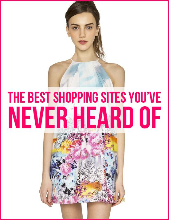 the best shopping sites you've never heard of