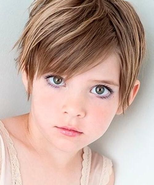 Hairstyles For Short Hair Kid Model Kids Short Haircuts Little Girl Haircuts Girls Pixie Haircut