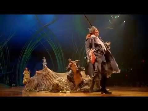 Amaluna Cirque Du Soleil Full Show Painting Art Acro