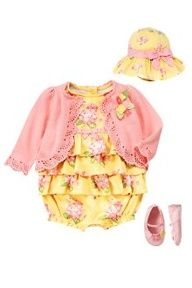 Sweet baby girl outfit - on sale at Gymboree. things-i-love-for-olivia