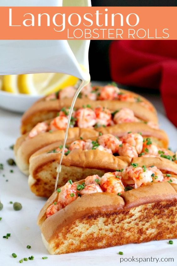 Langostino Recipe Warm Lobster Rolls