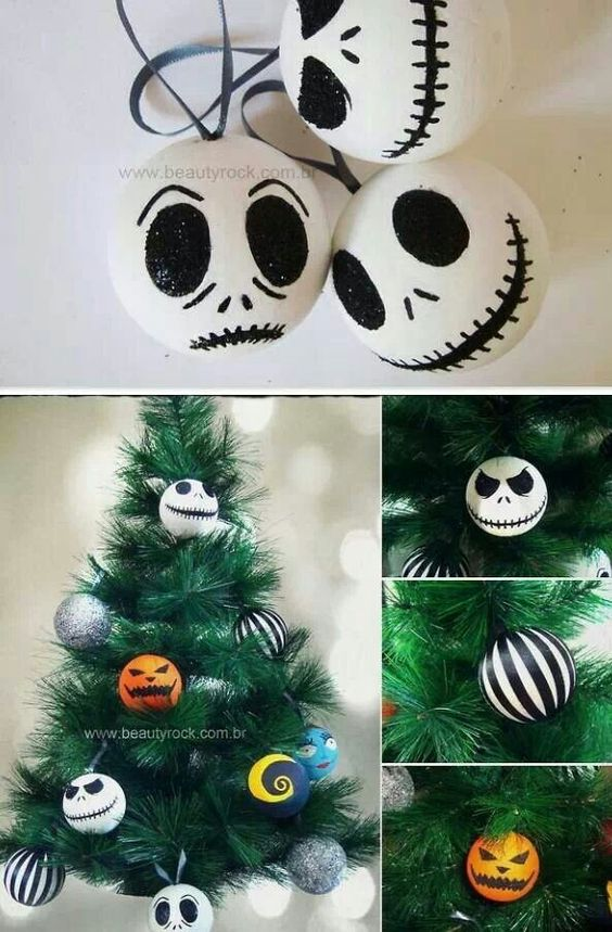 The Nightmare Before Christmas decorations | jack skellington ...