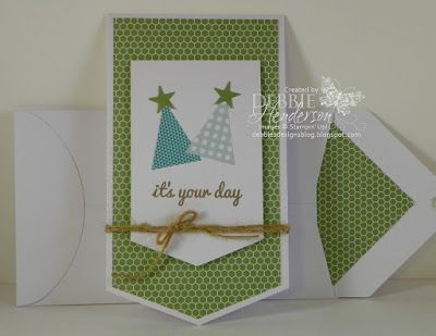 Stampin' Up! Paper Pumpkin June 2015 Alternative project. Debbie Henderson, Debbie's Designs.
