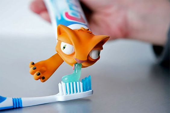 Dentifrice Cat