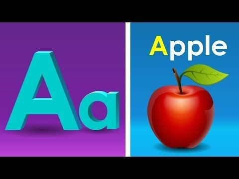 Phonics Song with TWO Words - A For Apple - ABC Alphabet Songs with Sounds for Children - YouTube