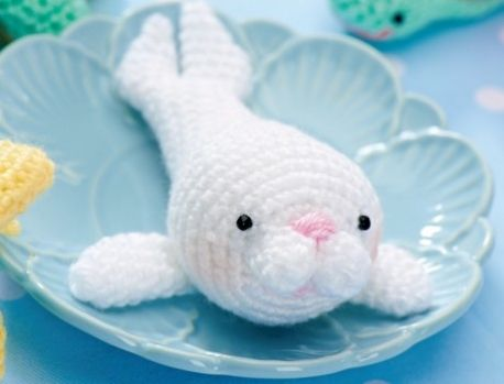 Stitch Amigurumi Crochet Pattern : Amigurumi, Seals and Stuffing on Pinterest