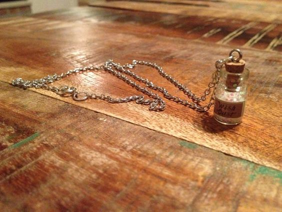 Fairy Wish Dust Necklace on Etsy, $17.00