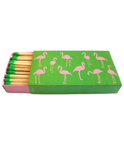 flamingo matchbox
