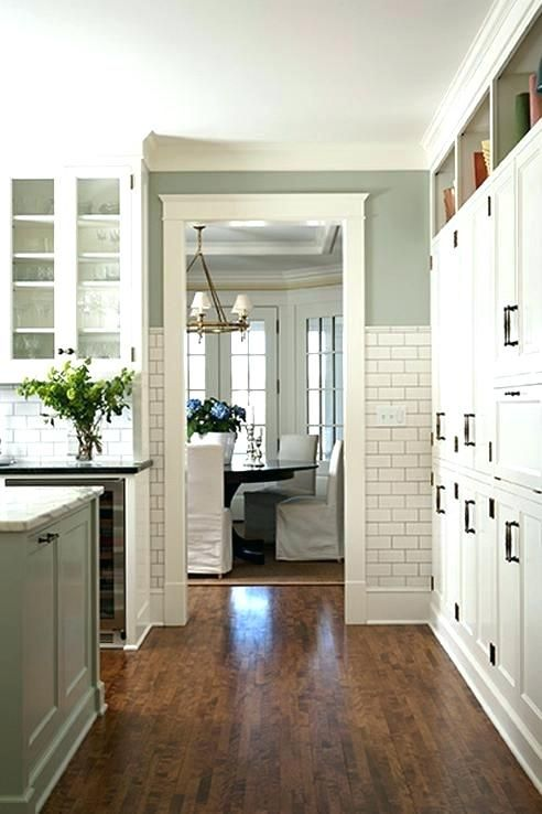 Image Result For White Kitchen Cabinets Green Walls Green Kitchen Walls Sage Green Kitchen Walls Flooring