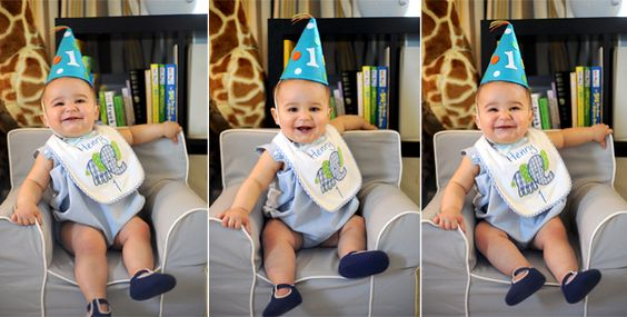 Cutie at his First Birthday Party