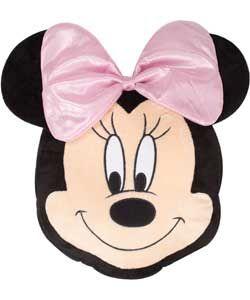 Buy Disney Minnie Mouse Glam Plush Cushion at Argos.co.uk, visit Argos.co.uk to shop online for Cushions