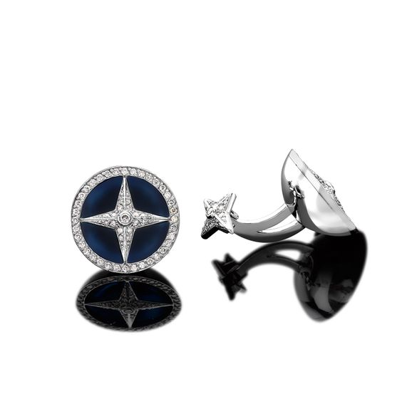 Cufflinks at Sybarite Jewellery London, Dancing Doll Ring, Merry Go Round Ring, Royal Family Jewellery Collection