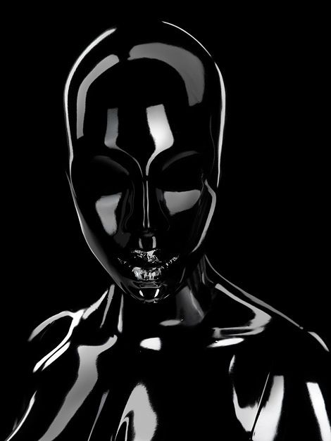 Seb Janiak _ #latex #fetish #shootings call for perfect lighting. Just look where the sources & reflections are...