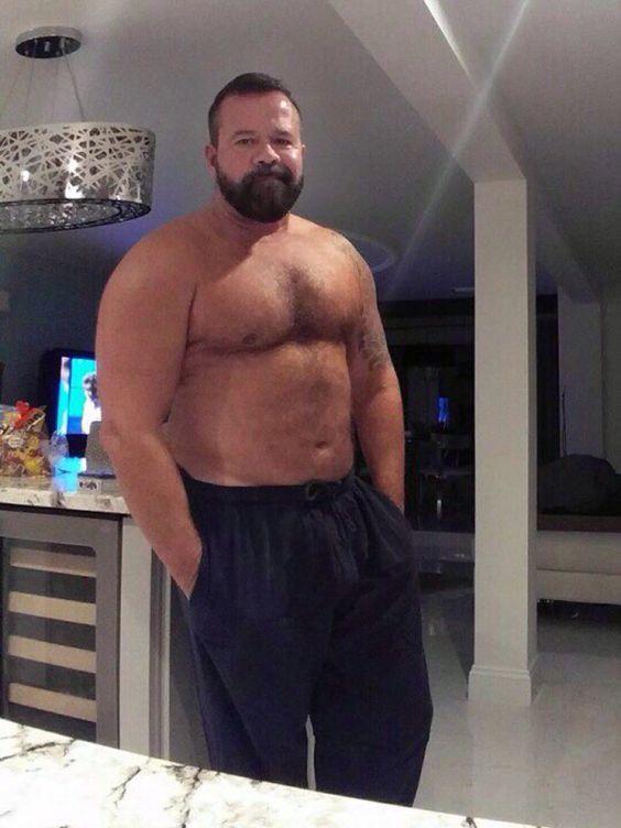 "musclebearworshipper: ""fiendish8: "" bear dad """