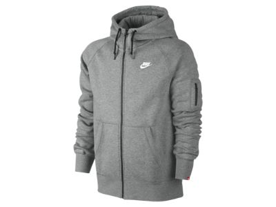 Nike AW77 Fleece Full-Zip Men's Hoodie | Tops and Jackets ...