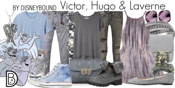Disney Bound - Victor, Hugo + Laverne