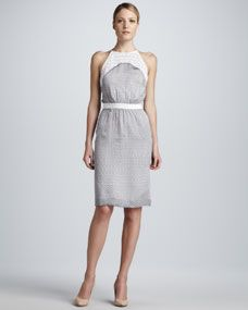 Raoul Caroline Day Halter Dress, $445