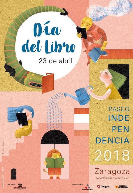 Certel dia del Libro de Zaragoza 2018. Autora: Maria Felices