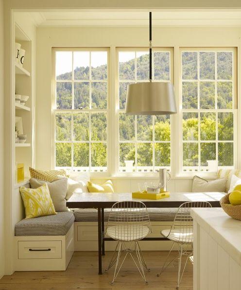 Colour Scheme: Grey, White & Yellow
