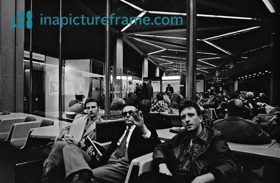 Midge, Billy and Chris, Vienna, 1980