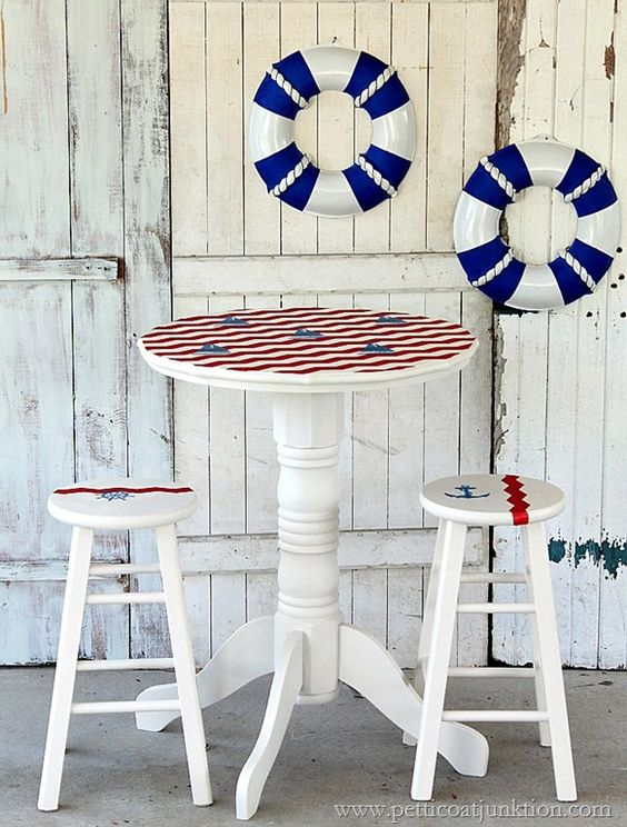 It's an age old summer trend, yet every time they come back around, nautical themes still manage to look fresh as a daisy. Use white as your base colour and decorate with red and blue, stripes, and seaside themed trinkets.
