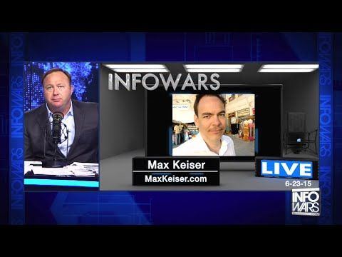 Alex Jones Show: Commercial Free - Tuesday (6-23-15) Max Keiser & Larry ...