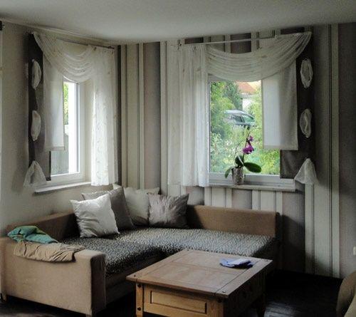 Kreative Gardinen Ideen Gardinen Wohnzimmer Modern Wohnzimmer