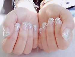 Omg, can we all have sparkle manis???: Glitter Nail, Wedding Nails, Nail Designs, Art Design, Naildesign, Nail Ideas
