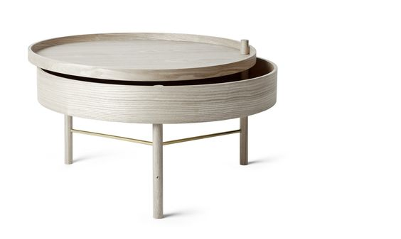 Turning Table in White Oak design by Menu