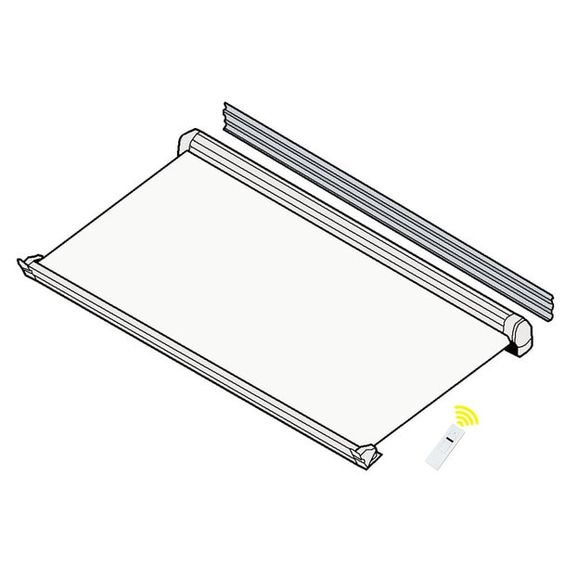 Product Information Power Source 12 Volt Dc Projection 86 Awning Width 10 Ft Mounting Style Wall Mounted Fabric Color White Awning White Fabrics Patio Awning
