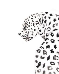 Image of Leopard carly martin art