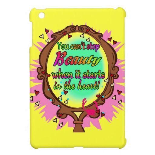 Beauty Mirror iPad Mini Covers