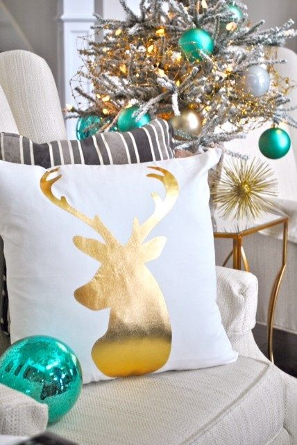 Christmas in July...Classy Christmas Pillows   Jane
