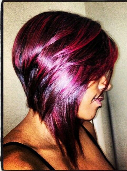 Remarkable Burgundy And Bobs On Pinterest Hairstyles For Women Draintrainus