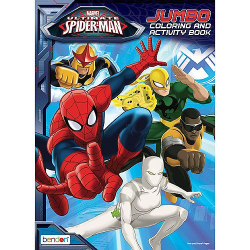 Spider Man Coloring Activity Book Party City Spiderman Party Supplies Spiderman Party Spiderman Birthday