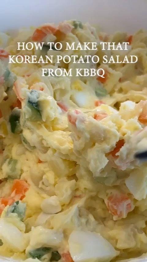 Korean Bbq Potato Salad Recipe