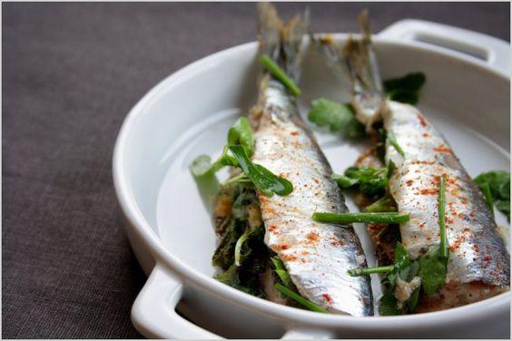 Sardines grillées à la mélisse | Soupçon de Balsamique Journal culinaire - Bruxelles