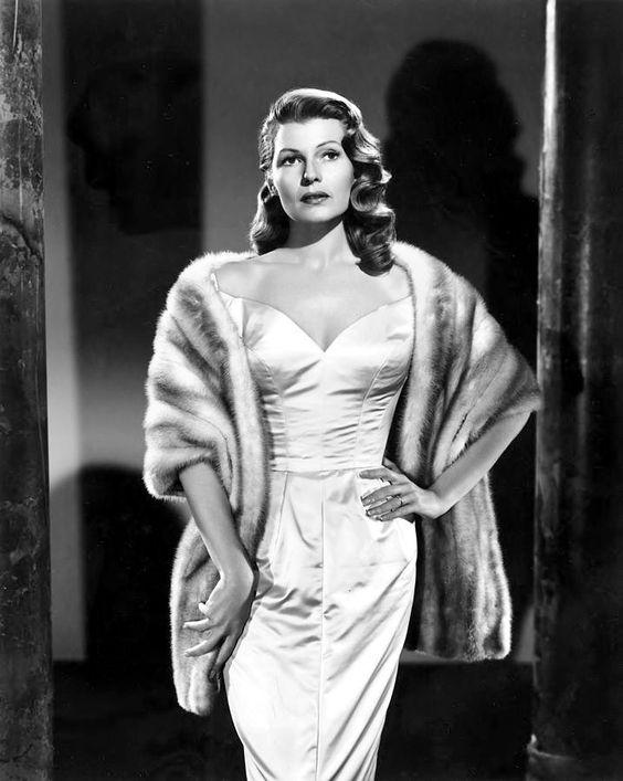 "sparklejamesysparkle:  Rita Hayworth by Clarence Everett, publicity still for ""Pal Joey"", 1957."
