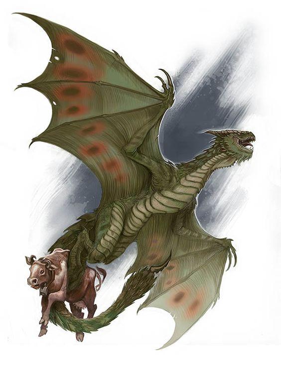 Wyvern Dragon: Fantasy Phreek: Dragons