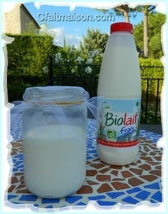 Fabriquer sa boisson kéfir de lait chez soi à partir de grains ou de ferments.