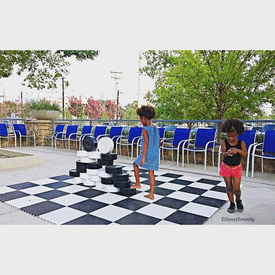 Exceptional Even The Kids Love The New Checkers Board At West Dallas, Patio, Kids,  Restaurants, Dallas, Trinity Groves
