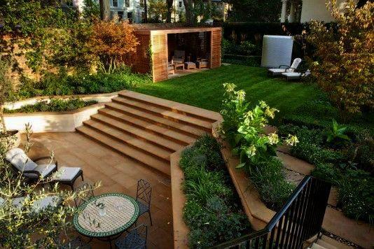 Landscape Gardening Jobs Abroad Lest Landscape Architect Companies In Dallas Tx At Landscape Architec Garden Landscape Design Patio Garden Design Sloped Garden