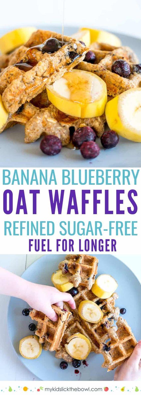 Banana Oat & Blueberry