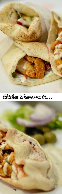Chicken Shawarma Recipe At Home | Homemade Chicken Shawarma | No BBQ | No  Tandoor.