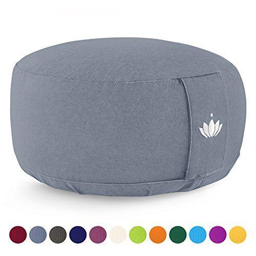 Lotuscrafts Zafu Coussin de Méditation Zen Rembourrag Hauteur D/'assise 15 cm