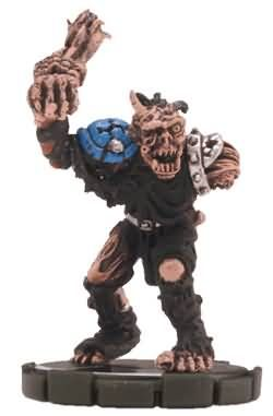 Troll Zombie #068 Mage Knight Sinister